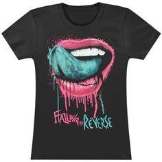 0405919b9b972 Falling In Reverse Womens Lips Girls Jr - Falling In Reverse - F -  Artists Groups