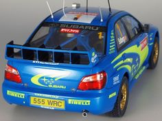 1/24 SUBARU IMPREZA WRC2004 RALLY JAPAN