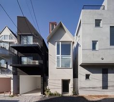 The Split House, Tokyo by Atelier Bow-Wow