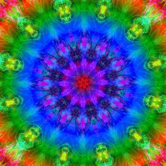 """Mandalas & Meditation"" - Blue Planet"
