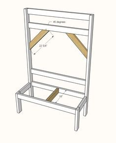 This easy to build hall tree has lots of hooks and a sturdy bench. Build it with our free plans including step by step diagrams, shopping and cut lists. Woodworking Furniture Plans, Woodworking Projects, Woodworking Education, Woodworking Machinery, Woodworking Shop, Rustic Hall Trees, Diy Furniture Plans Wood Projects, Diy Projects, Pallet Furniture