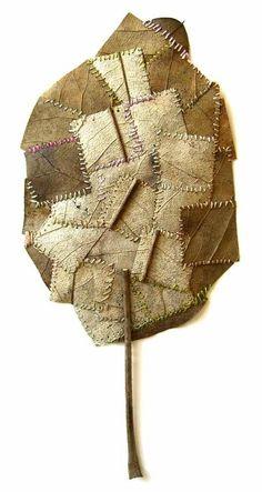 Susanna Bauer - magnolia leaf, cotton yarn
