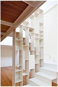 étagère rampe escalier - Recherche Google