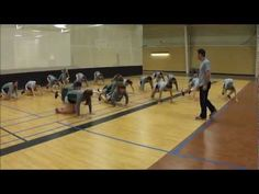 Youth Fitness Balance Games - YouTube