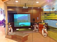 Sharpen those golfing skills on our simulator at The Centre Escondido!