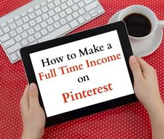 Love to spend hours on Pinterest? You can earn a full time income on Pinterest and start turning your love of Pinterest into a career that you love.