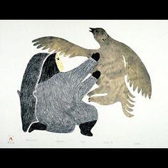 Inuit Art Sculpture Inuit Prints Inukshuks Eskimo Art at ABoriginArt Galleries an online retail gallery of fine Canadian Inuit Art - Eskimo Art vintage and contemporary sculpture and prints. 400 Inuit and Eskimo Artists. Native Healer, Inuit Art, Native Art, Native Indian, Indigenous Art, Aboriginal Art, Old Art, Sculpture Art, Sculptures