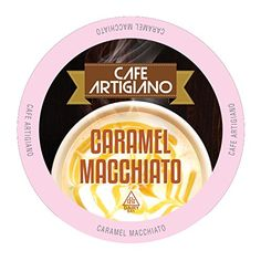 Café Artigiano Caramel Macchiato Single-Cup for Keurig K-Cup Brewers 40 Count *** Details can be found by clicking on the image.