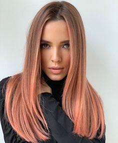 Rose Gold Short Hair, Blond Rose, Gold Blonde Hair, Rose Gold Hair Dye, Caramel Blonde Hair, Champagne Blonde Hair, Blonde Hair With Highlights, Caramel Colored Hair, Black Hair