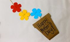 Make A Flowerpot Card | Mother's Day | Father's Day | Paper Craft | Kids Activities