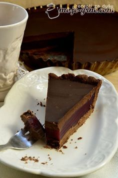 Čokoladni tart sa grožđem