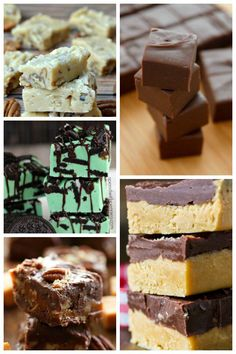 35 Ways To Make Fudge ...a fun, easy treat for Christmas time