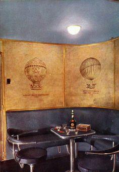 Colour photographs of the Hindenburg interior - Retronaut