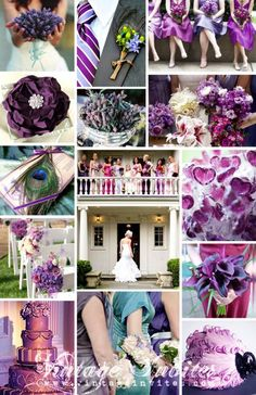 Found on Weddingbee.com  make a wedding collage, and that's it! Not a million pics.