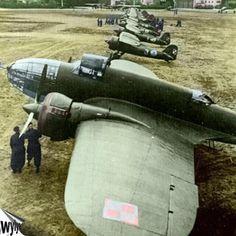 Polish Łoś bombers in 1939