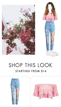 """Untitled #296"" by emilylouise1311 ❤ liked on Polyvore featuring Boohoo and adidas"