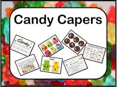 Educational Kismet : Candy Capers Literacy and Mathematics Kit