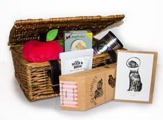 This lovely Get Well Soon Gift Hamper is the perfect gift for a poorly dog or their owner, it is a great alternative to sending flowers! Contains natural dog treats and a squeaky toy. Get Well Soon Gifts, Natural Dog Treats, Gift Hampers, Goodies, Artisan, Greeting Cards, Weather, Wellness, Apple