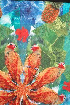 N I K K I S T R A N G E. Textile print design.
