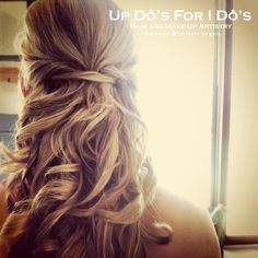 updosforidos.com #bridesmaid #hair #weddings #halfup #hairstyle