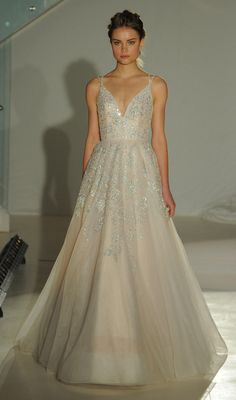 Don't Miss Hayley Paige's Delicate, Whimsical Wedding Dresses for Spring 2017 | TheKnot.com