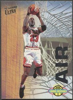 new product 66e31 d56e8 1993 94 Ultra  7 Michael Jordan Famous Nicknames Basketball Cards, Air  Jordans,