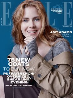 Amy Adams is ELLE UK's November 2016 Cover Star