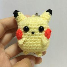 Chibi Pikachu Pokemon Amigurumi by DrunkWithCaffeine on Etsy