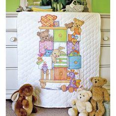 Baby Drawers Quilt Cross Stitch | Hobbycraft