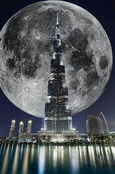 Supermoon Novmber 2016  Dubi