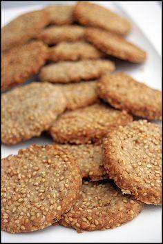 Oat crackers aux noix et graines de sésame (Irlande)