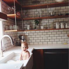 Abgewaschen - jetzt ist Zeit für ein Bad!