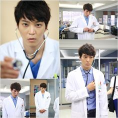 Joo Won is dashing in a white coat for upcoming KBS drama 'Good Doctor' Good Doctor Korean Drama, Watch Korean Drama, Best Stethoscope, Stethoscope Brands, Joo Sang Wook, Kim Young Kwang, Autumn In My Heart, Korean Male Actors, Yoon Park