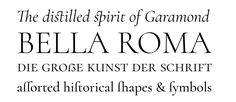 Cormorant | Font-Wiki | Typografie.info