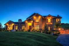 This magnificent Salt Lake City home offers splendid views of the surrounding mountain tops.
