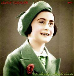 Anne Frank. 1937. Such a bright spirit, her light still shines on us.