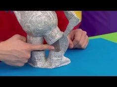 Art Attack Hombre Invisible - YouTube