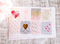 Key Holder Kit Gold Foil Planner Stickers | Love | Valentines | Decorative Stickers by paperblushbar on Etsy https://www.etsy.com/listing/506404891/key-holder-kit-gold-foil-planner