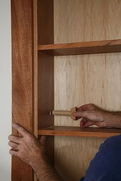 Gary Katz Online, shows you how to make a hidden Door
