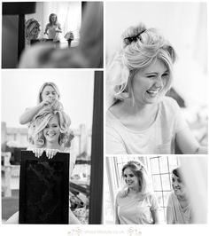 Bride Getting ready at Whirlowbrook Hall