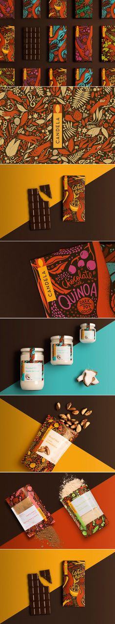 Illustrative Chocolate Wrappers Showcase the Biodiversity of Peru — The Dieline | Packaging & Branding Design & Innovation News