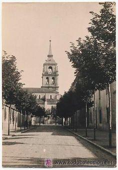 ANTIGUA FOTO. IGLESIA MAGISTRAL. ALCALA DE HENARES. MADRID. 1922 - Foto 1