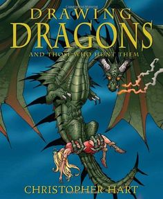 Drawing Dragons and Those Who Hunt Them by Christopher Hart http://www.amazon.com/dp/0823006123/ref=cm_sw_r_pi_dp_NJN1tb0V5G1S7A57
