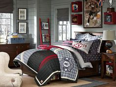 I love the PBteen Hampton Manchester Bedroom on pbteen.com