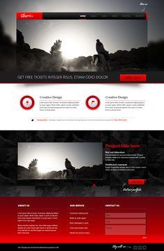 http://themeforest.net/item/clearflex-psd-templates/3061381?WT.ac=category_thumb.seg_1=category_thumb.z_author=ezpsdart