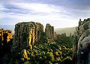 I love the Karoo because it is home to the Valley of Desolation that is situated just outside Graaff-Reinet    The Karoo stretches out for nearly 180km from Compassberg to Cockscomb Mountain.  Remarkable sight to see the Plains of Camdeboo & the Black Eagles soaring high above the Karoo Plains.    See www.camdeboocottages.co.za for more information.