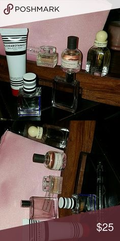 Mini Set of Perfumes Prada, Florabotanica  Body Lotion & Perfume, Bottega Veneta and Balenciaga mini Perfumes.. Makeup