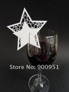 marque place étoile sur verre