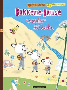 Bockarna Bruse kommer igen av Bjørn F Rørvik, Gry Moursund (Bok) School Pictures, 4 Kids, Childrens Books, Family Guy, Comics, Fictional Characters, Picture Books, Languages, Amanda