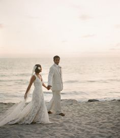 Washed Ashore, An Organic Beach Wedding: Jamie + Jabdiel – Part 1